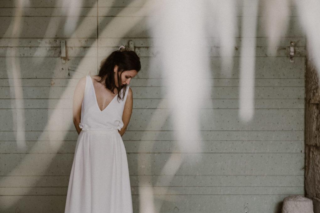 Photo de la robe Irene de face