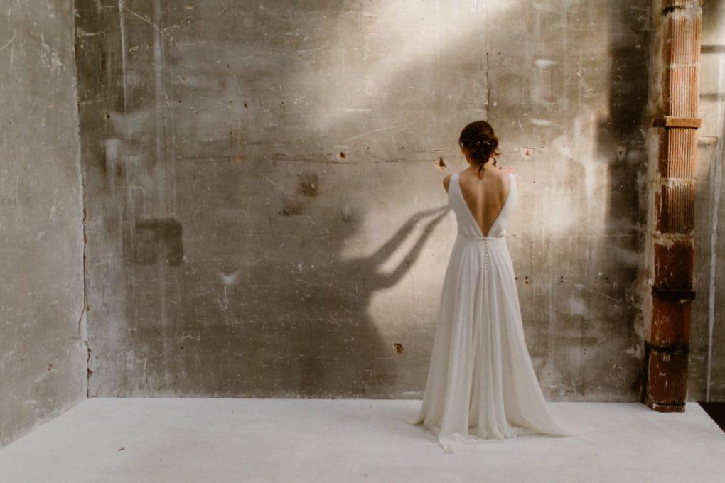 Photo de la robe Alice de dos