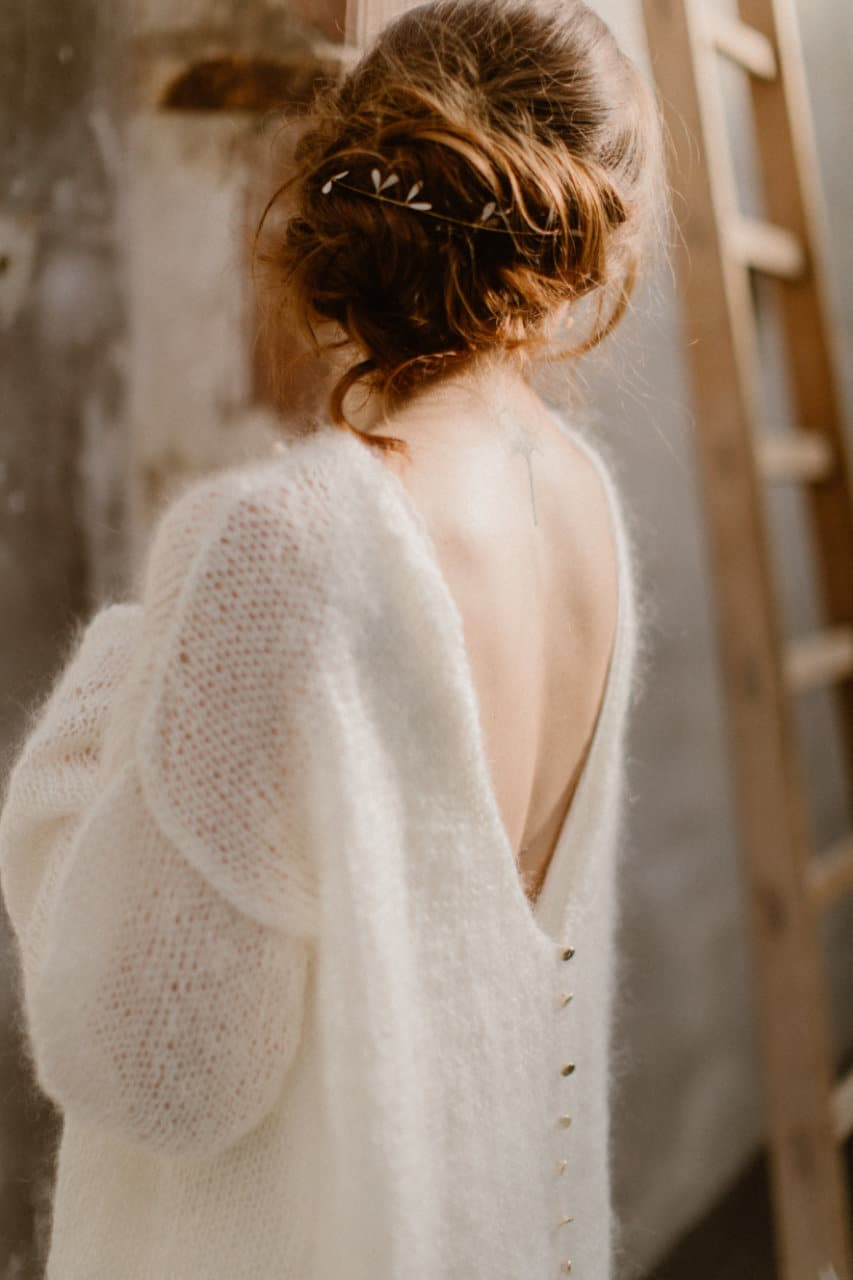 Photo du dos de la robe Alice de 3/4
