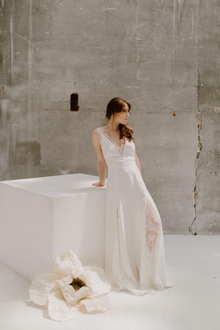 Photo de la robe Axelle de plein pied