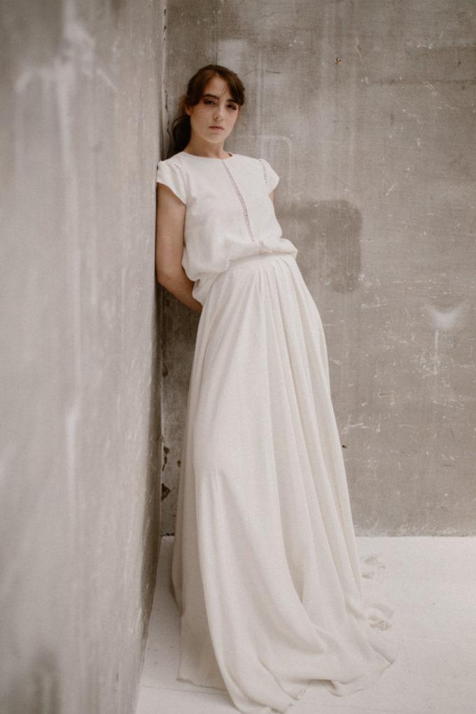 Photo de plein pied de la robe Colette de face