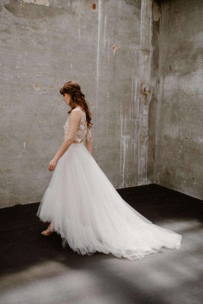 Photo de la robe Héléna de profil