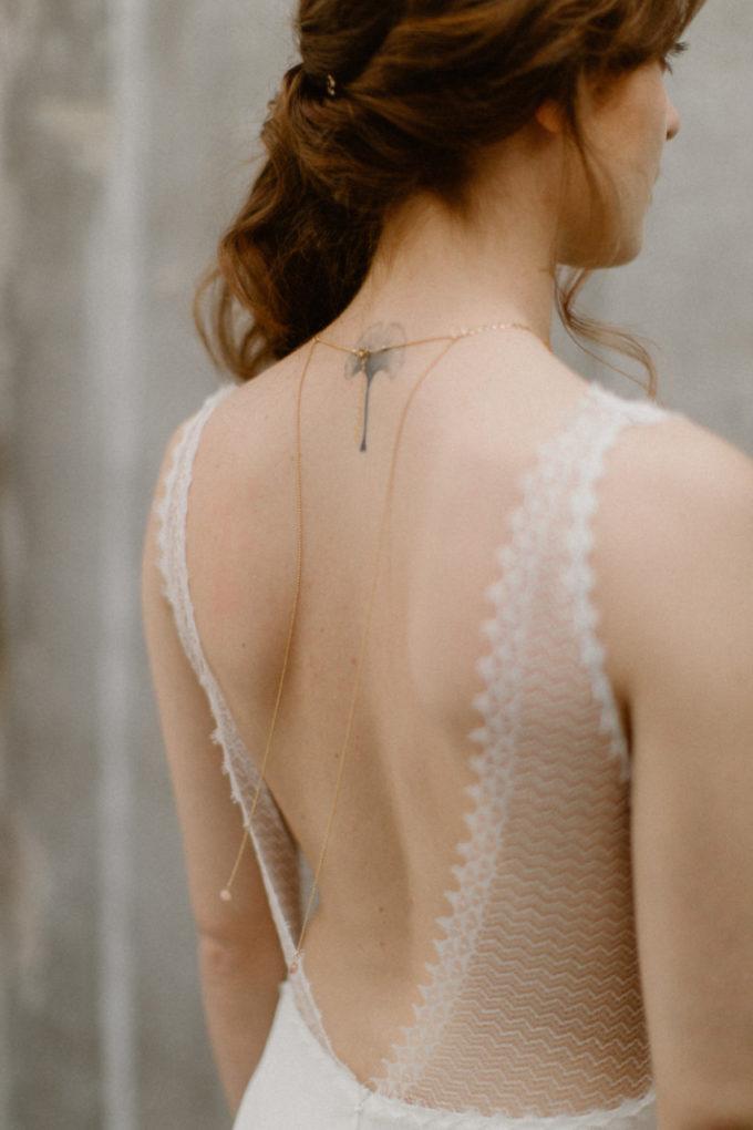 Photo du dos de la robe Marion