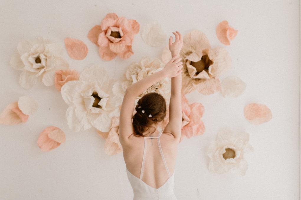 Photo du dos de la robe Roxanne
