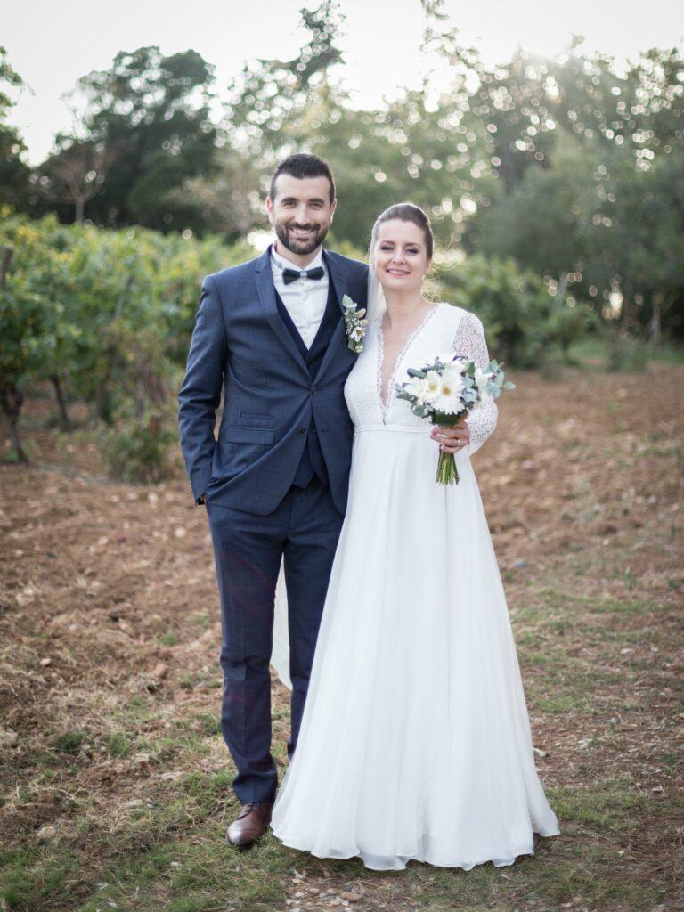 robe de mariée Atelier Swan mariage vignobles