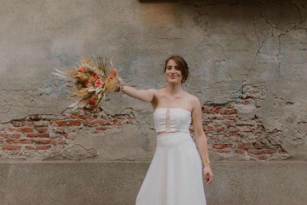 Photo de la robe Ida de face