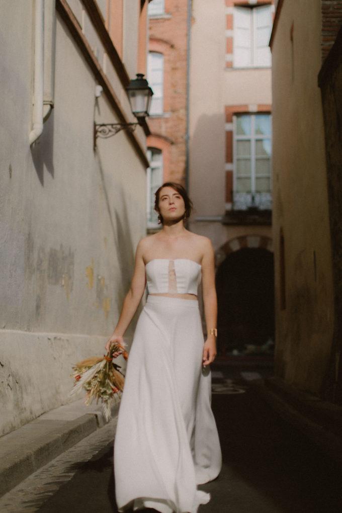 Photo de plein pied de la robe Ida
