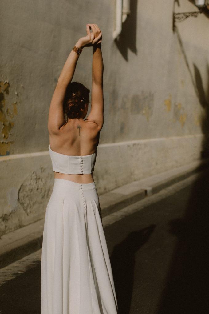 Photo de la robe Ida de dos