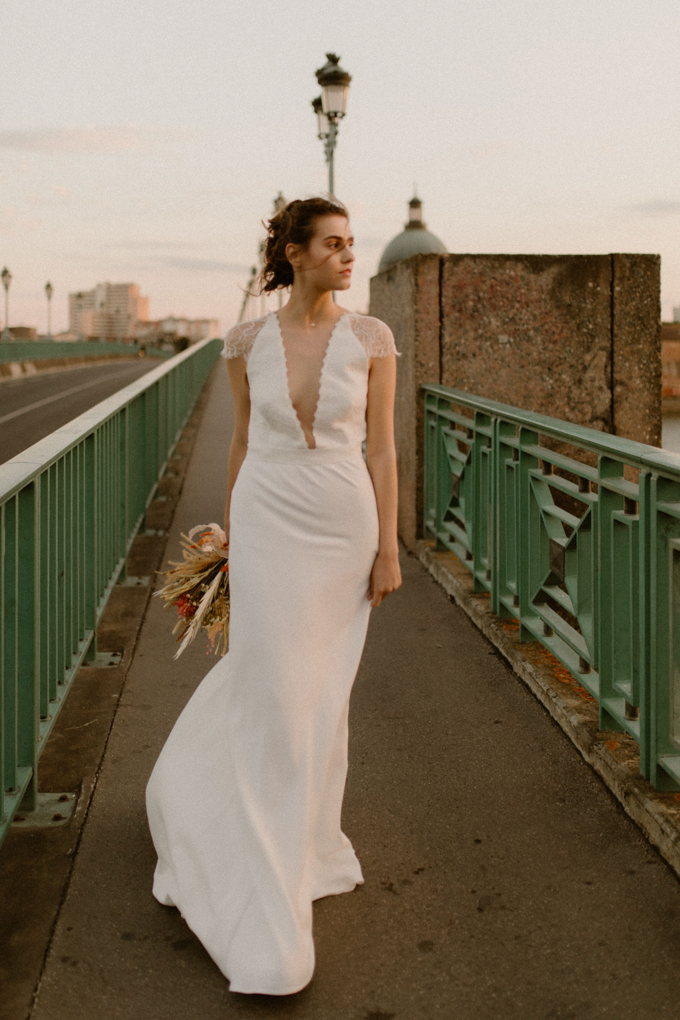 Photo de face de la robe June