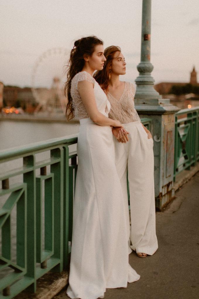 Photo des robes June et Allister de plein pied