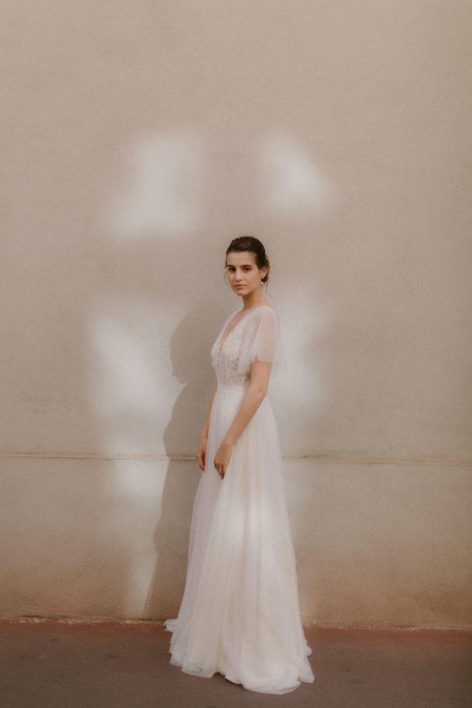 Photo de plein pied de la robe Lisa