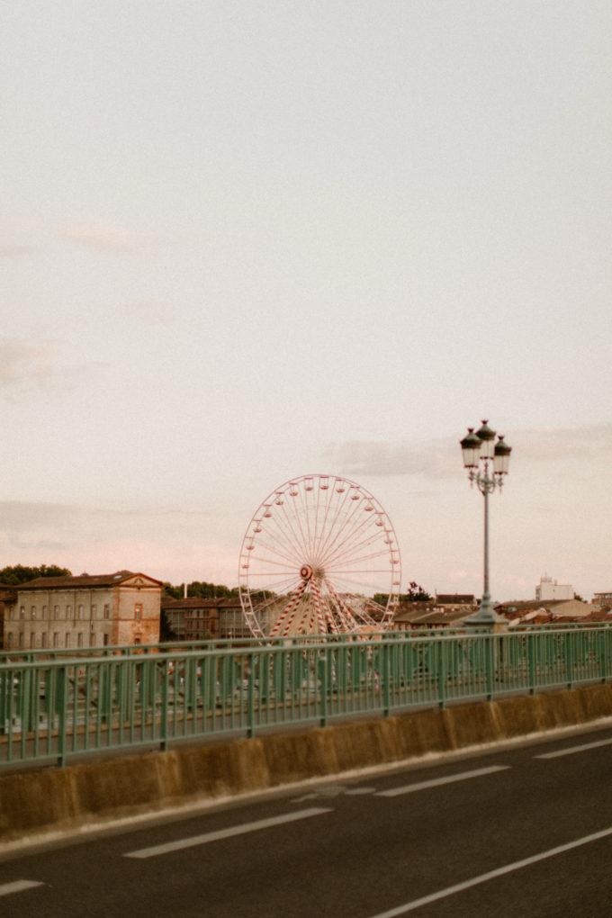 Photo de la roue de Toulouse